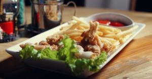 Chicken fillet with French Fries