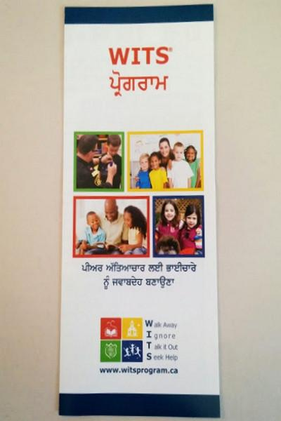 Pamphlets WITS LEADS Program (Punjabi) \u2013 WITS