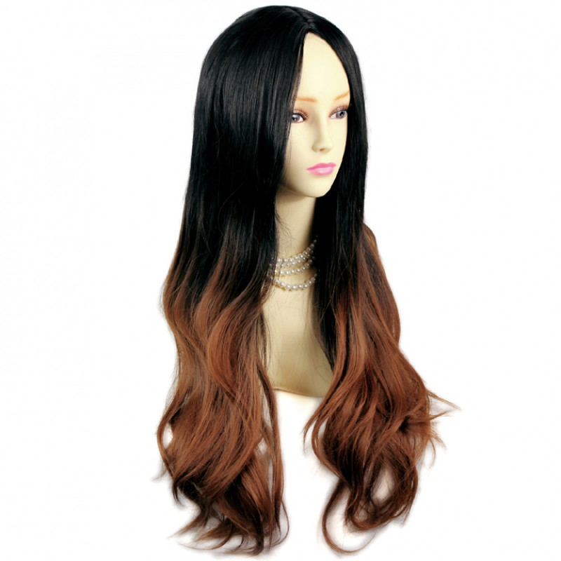 Blonde Bob Wig Human Hair Wiwigs Amazing Style Black Brown Red Long Wavy Lady