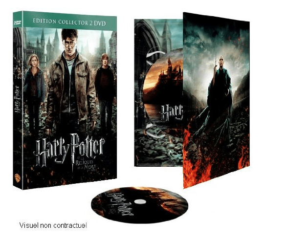 Zweinstein Locatie Release Deathly Hallows, Part 2 Collecor's Edition Dvd