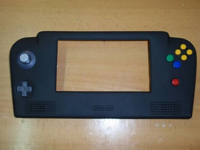 How this guy transform Nintendo 64 into A Handheld game console 47