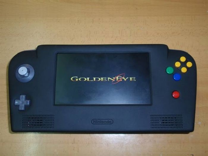 How this guy transform Nintendo 64 into A Handheld game console 59