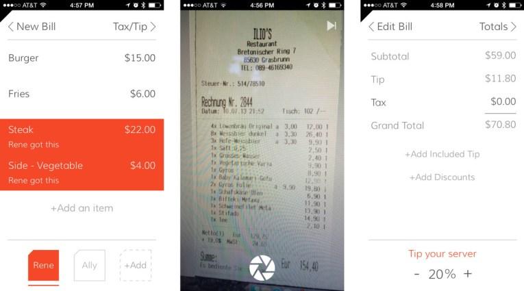 TAB- Bill Splitting Made Easy