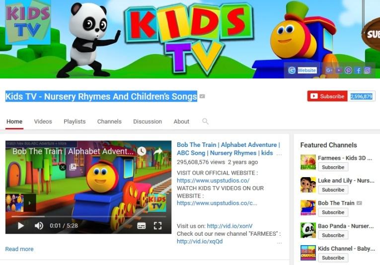Kids Channel Youtube Channel
