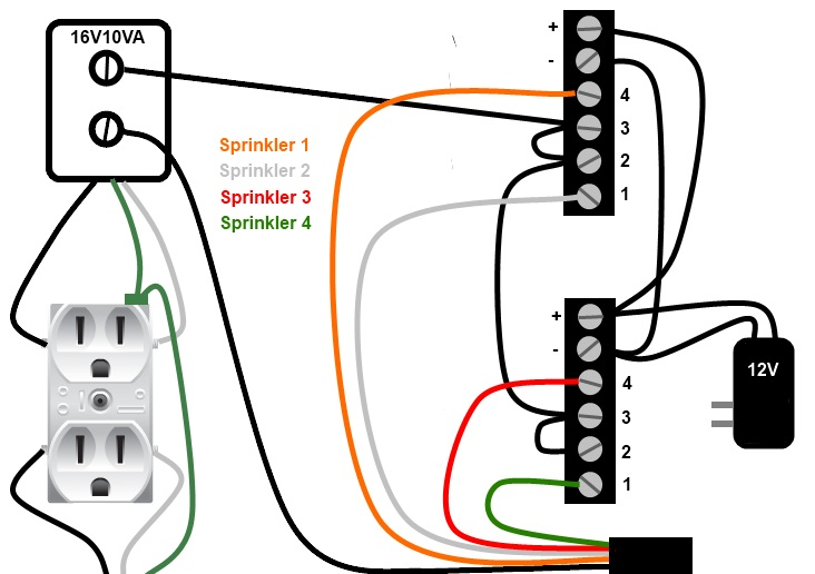 Toro Sprinkler Wiring Diagram Electronic Schematics collections