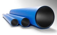 Pressure pipes made of PE 100 RC for drinking water