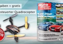 auto motor und sport Probeabo plus ferngesteuertem Quadrocopter