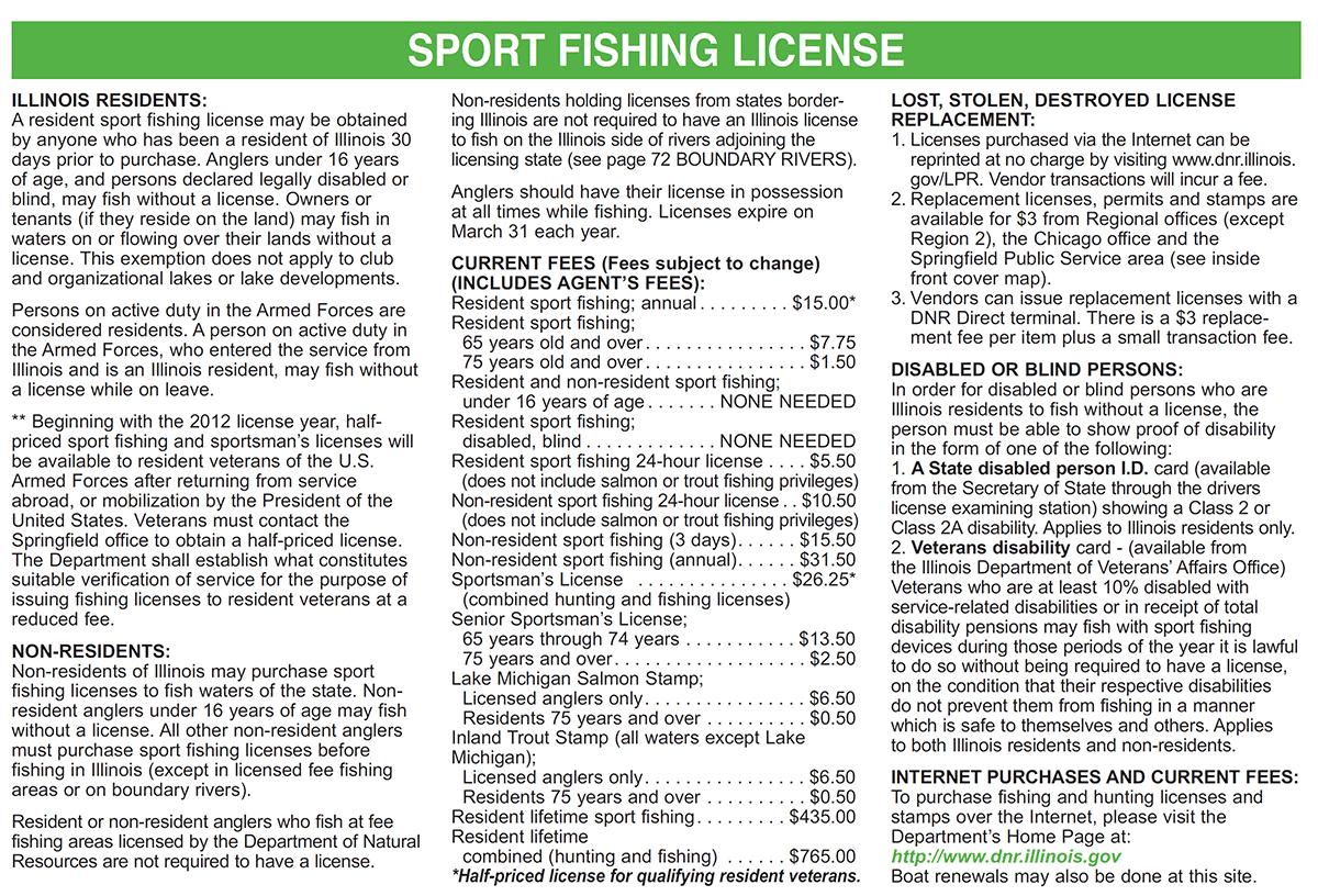 weather channel wonder lake il fishing license