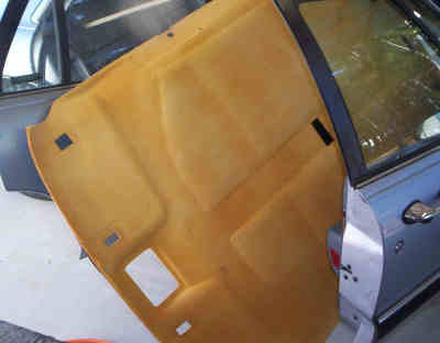 1994 Buick Lesabre headliner repair and replacement instructions