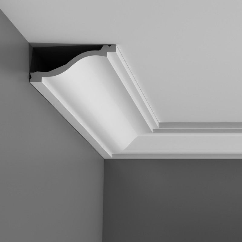 Corniche Lumineuse Led C331 'skye' Lightweight Cornice - Wm Boyle Interior Finishes