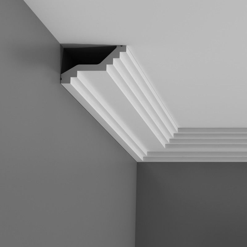 Corniche Lumineuse Led Art Deco Coving | Modern Stepped Coving - Wm. Boyle Interiors