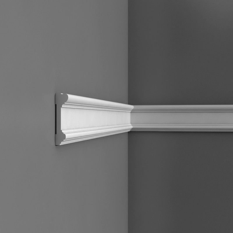 Stuck Leisten Dx121 Large Plain Dado Rail - Wm Boyle Interior Finishes