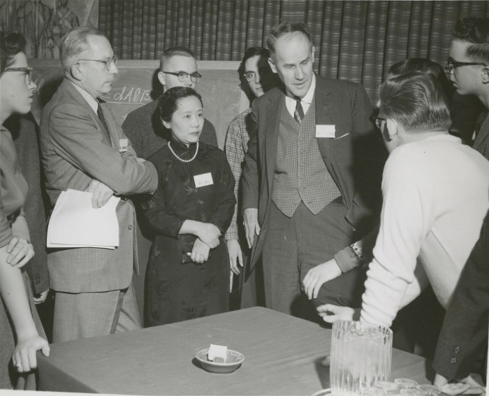 A group of self-correcting scientists discuss the various theories of melting butter.