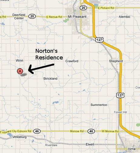 Norton's residence