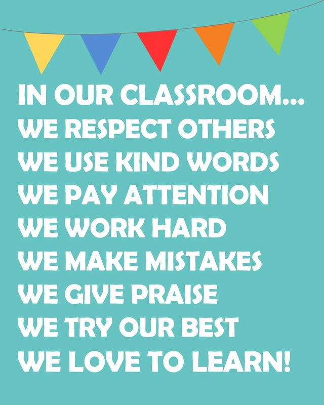 Classroom Expectations - West Middle School FACS