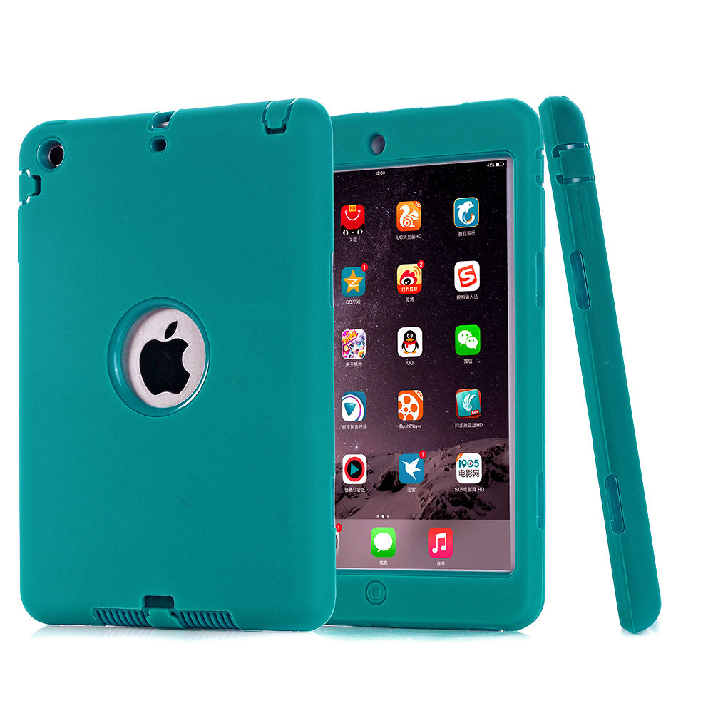 Ipad Mini Cover Heavy Duty Kids Shock Proof Case Cover For Ipad Air 1/2