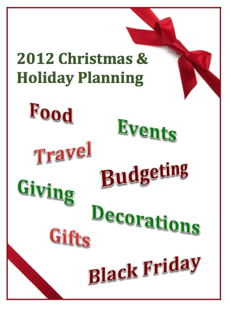 Christmas and Holiday Planning Binder Cover Page Download and 16
