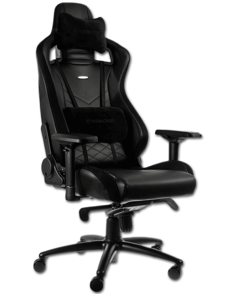 Pc Gaming Stuhl Gaming Chair Epic Black Black Noblechairs