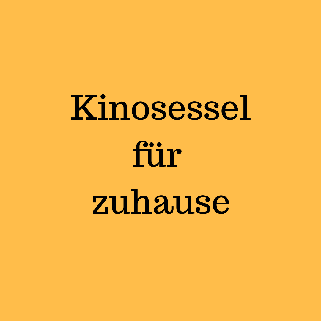 Kinosessel Diy Do It Yourself Archive Wohn Blogger