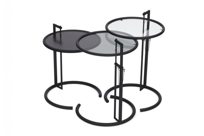 Büromöbel Klassiker Adjustable Table E1027 Black Version Von Classicon, Design