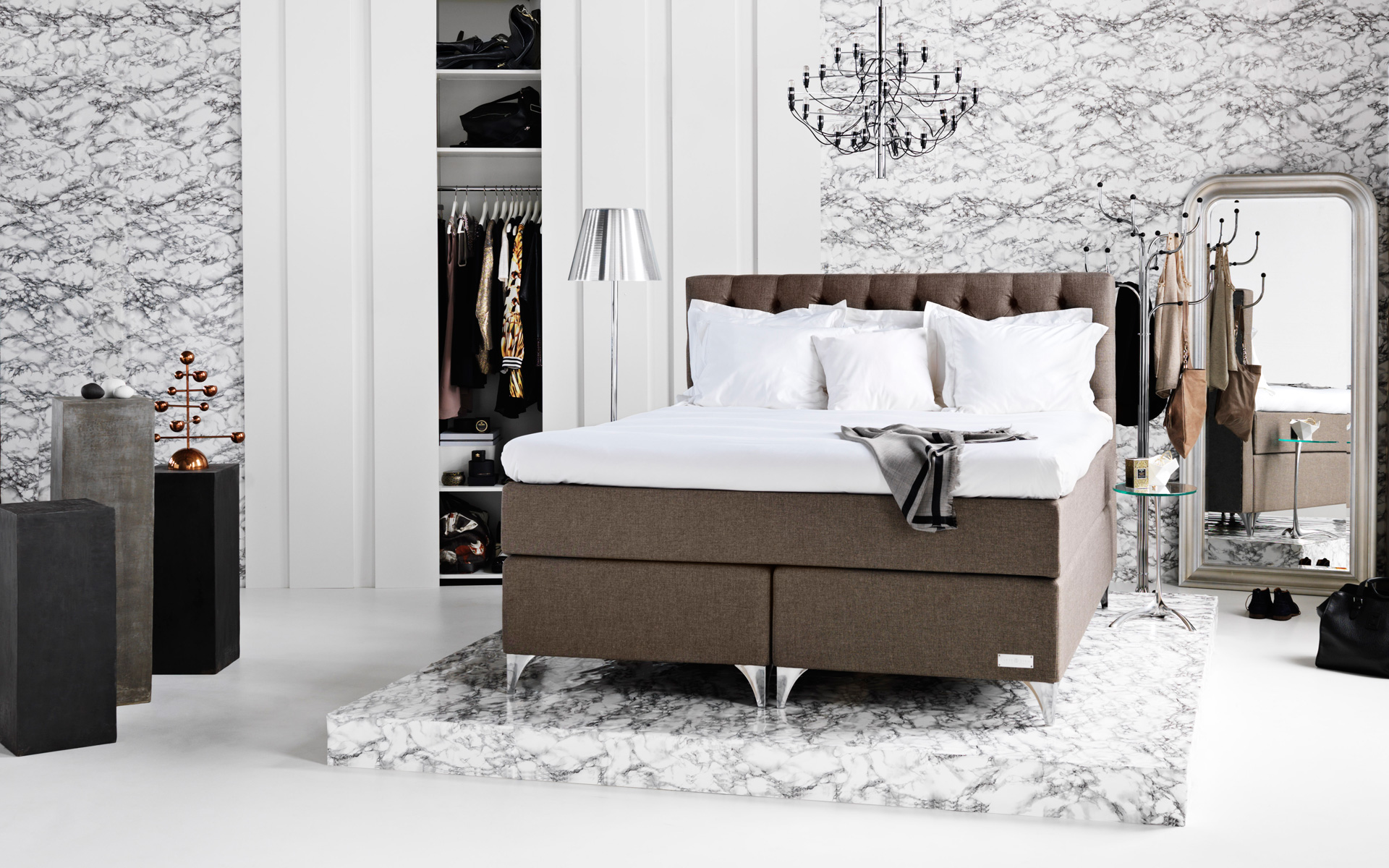 Betten Boxspring Boxspring Betten Finest Ludwig Ohne Kopfteil X Cm In