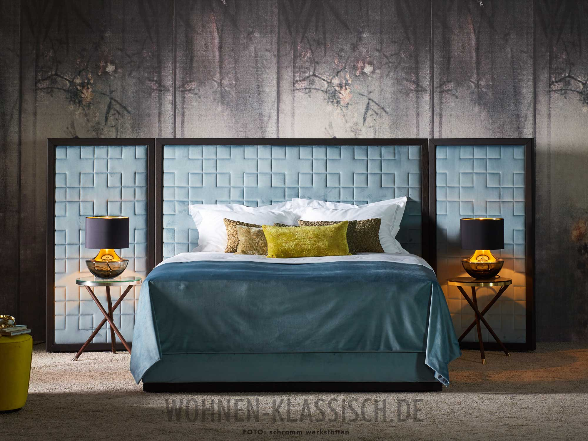 Cocoon Luxusbetten Classic Bedroom Furniture Baroque Art 2013 Vimercati