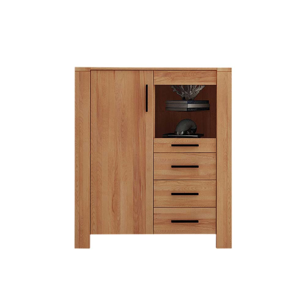 Highboard Kommode Highboard Kommode Mosniak Aus Kernbuche Massivholz