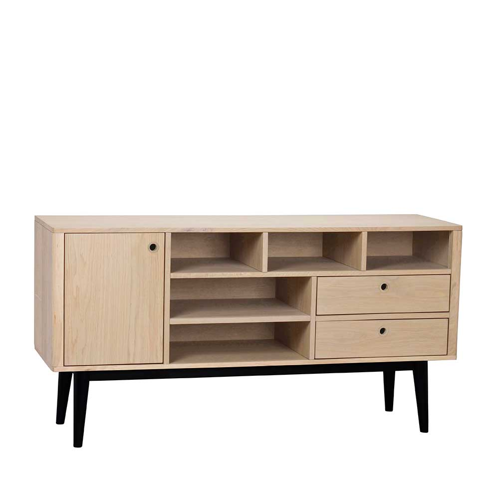 Offenes Sideboard Offenes Retro Sideboard Jumeco In Holz White Wash