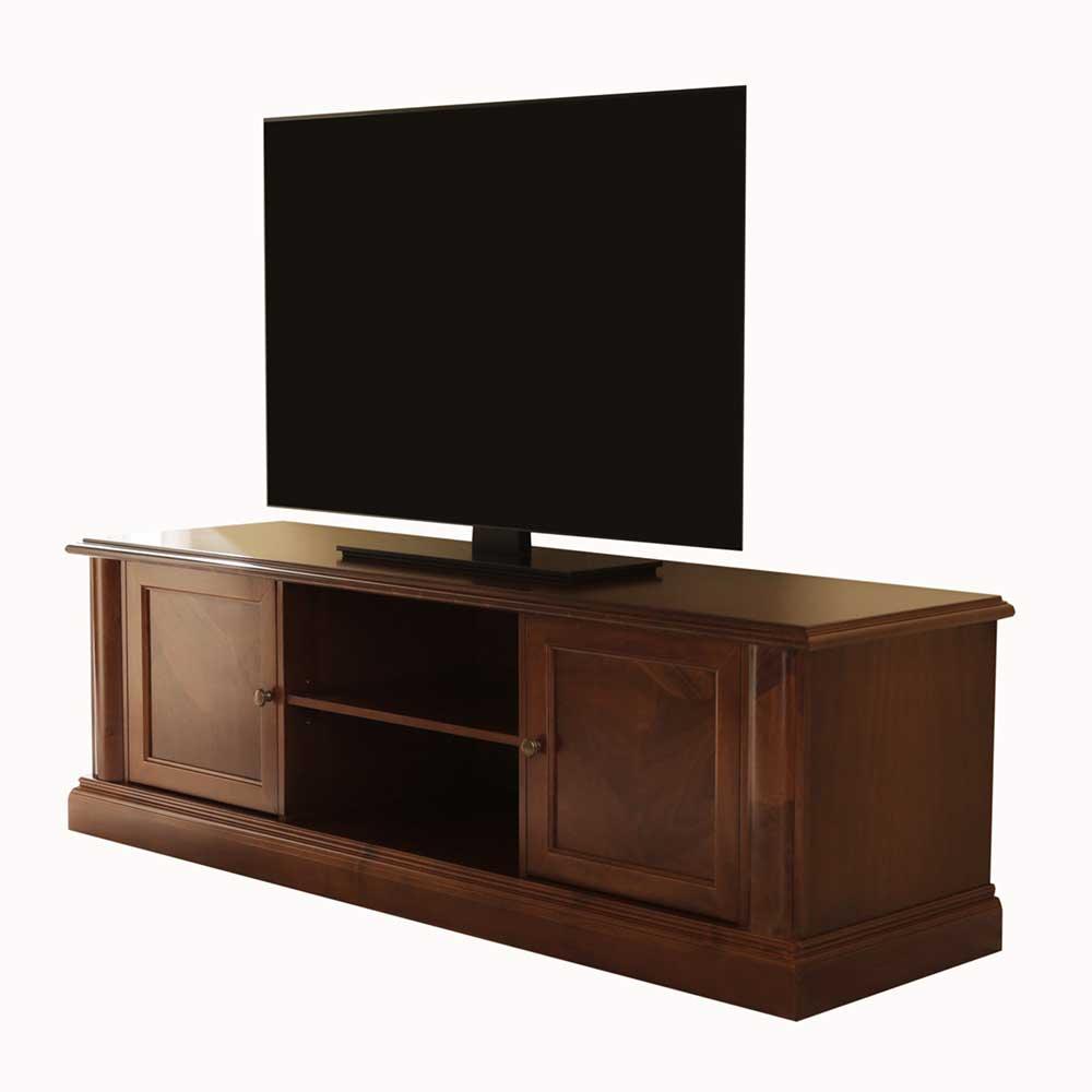 Tv Schrank Nussbaum Antik Tv Tisch Messina Aus Nussbaum