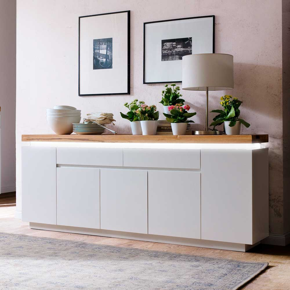 Wohnzimmer Sideboard Wohnzimmer Sideboard Zelda Mit Led Beleuchtung