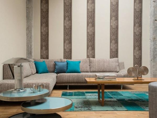 King Lions - moderne tapeten für wohnzimmer