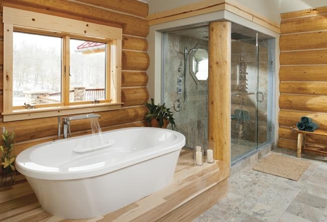 Badezimmer Modern Rustikal - Wohndesign