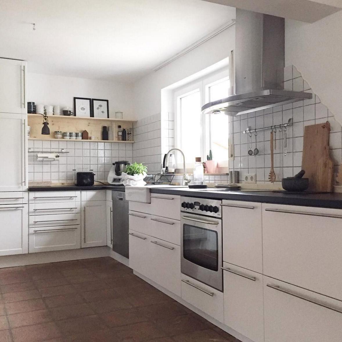 Schwarz Weiße Küche | Wandbilder Kuche Schwarz Weiss Schwarz Weisse Kuche Hausumbau Planen