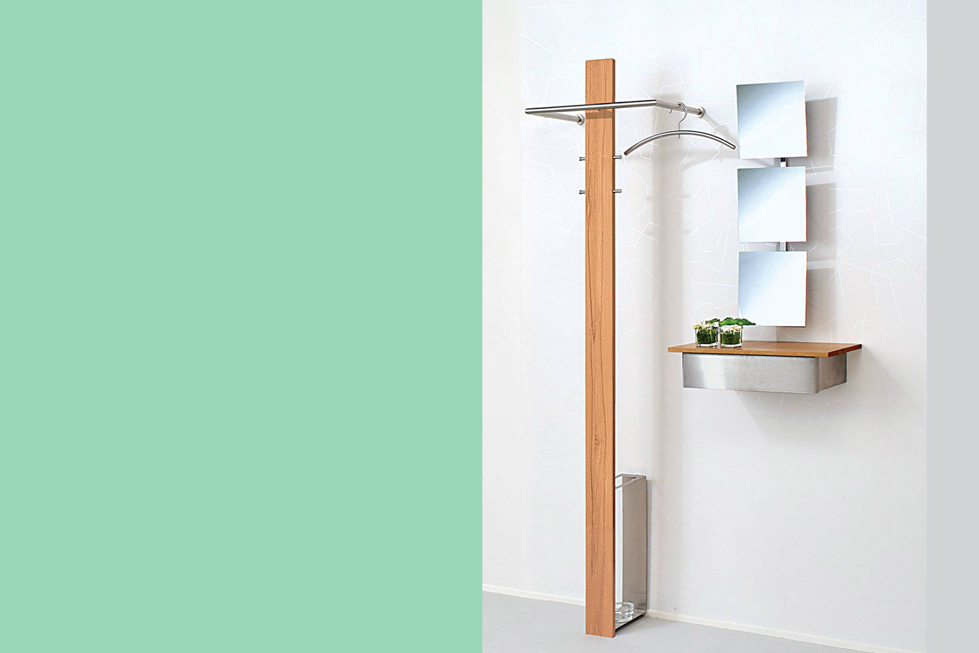 Wand Garderobe Wandgarderobe Mister T Wohnopposition Berlin