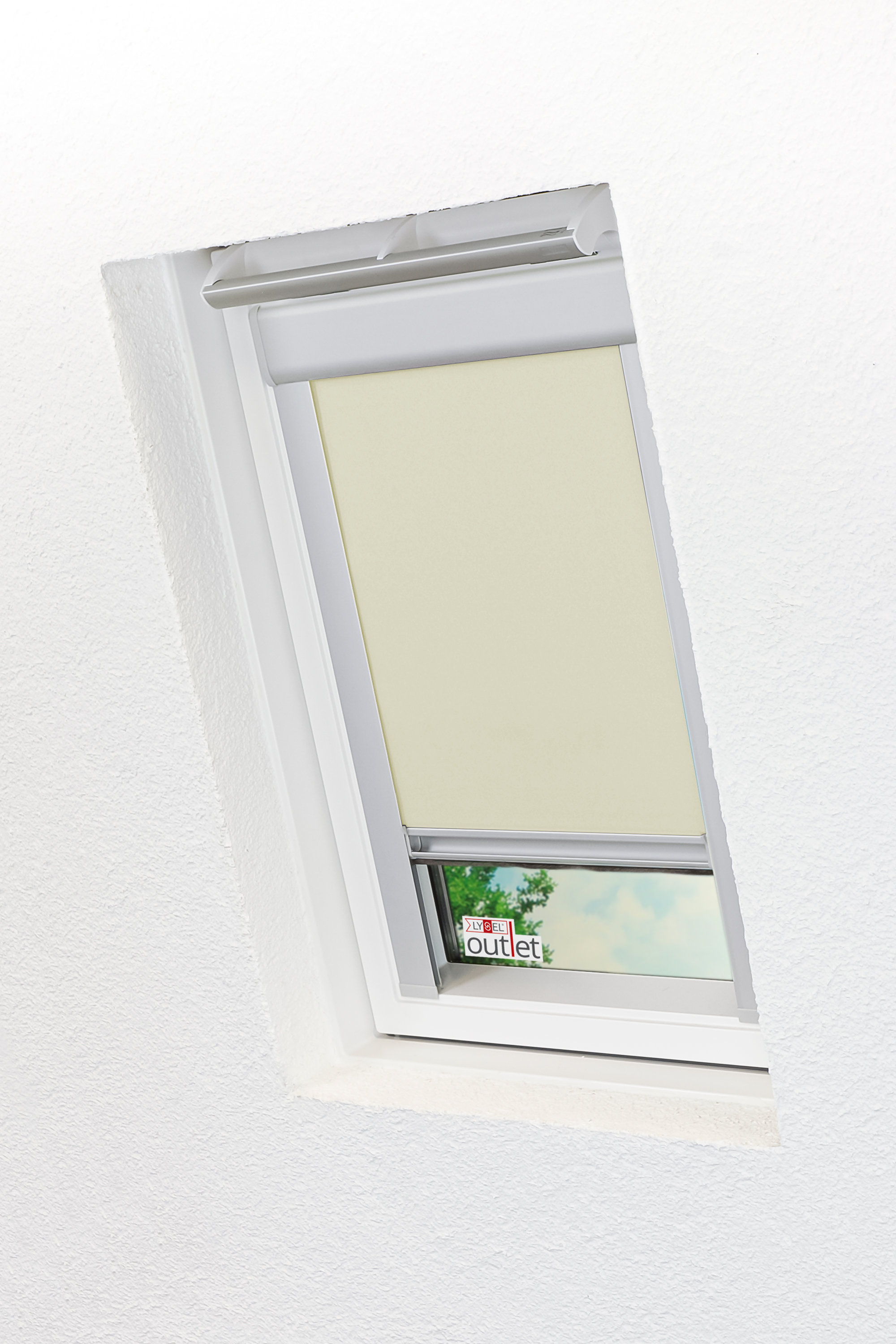 Rollo Velux Dachfenster Abdunkelnd Schnapprollo Dachfensterrollo Lysel Outlet Ebay