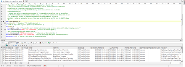 SPF Database Queries 1 - Step 2