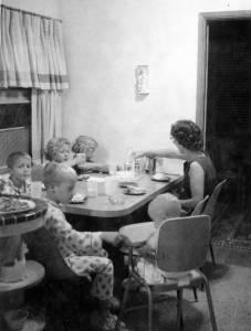 1961 Family Dinner