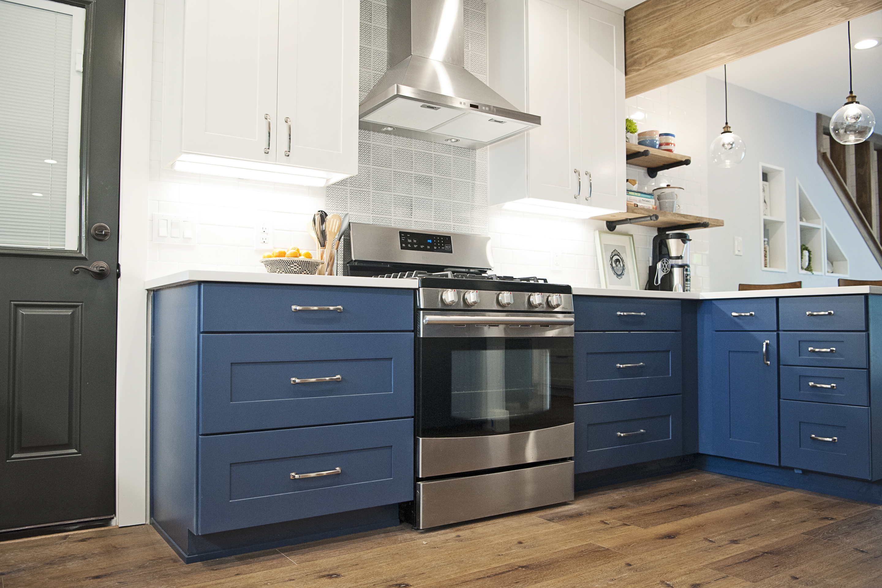 Blue Kitchen Cabinet Trend Alert Blue Kitchen Cabinets Wolf Home Products