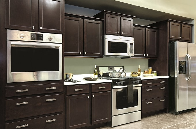 How To Stain Kitchen Cabinets Espresso Kitchen Cabinet Photo Gallery | Wolf Home Products