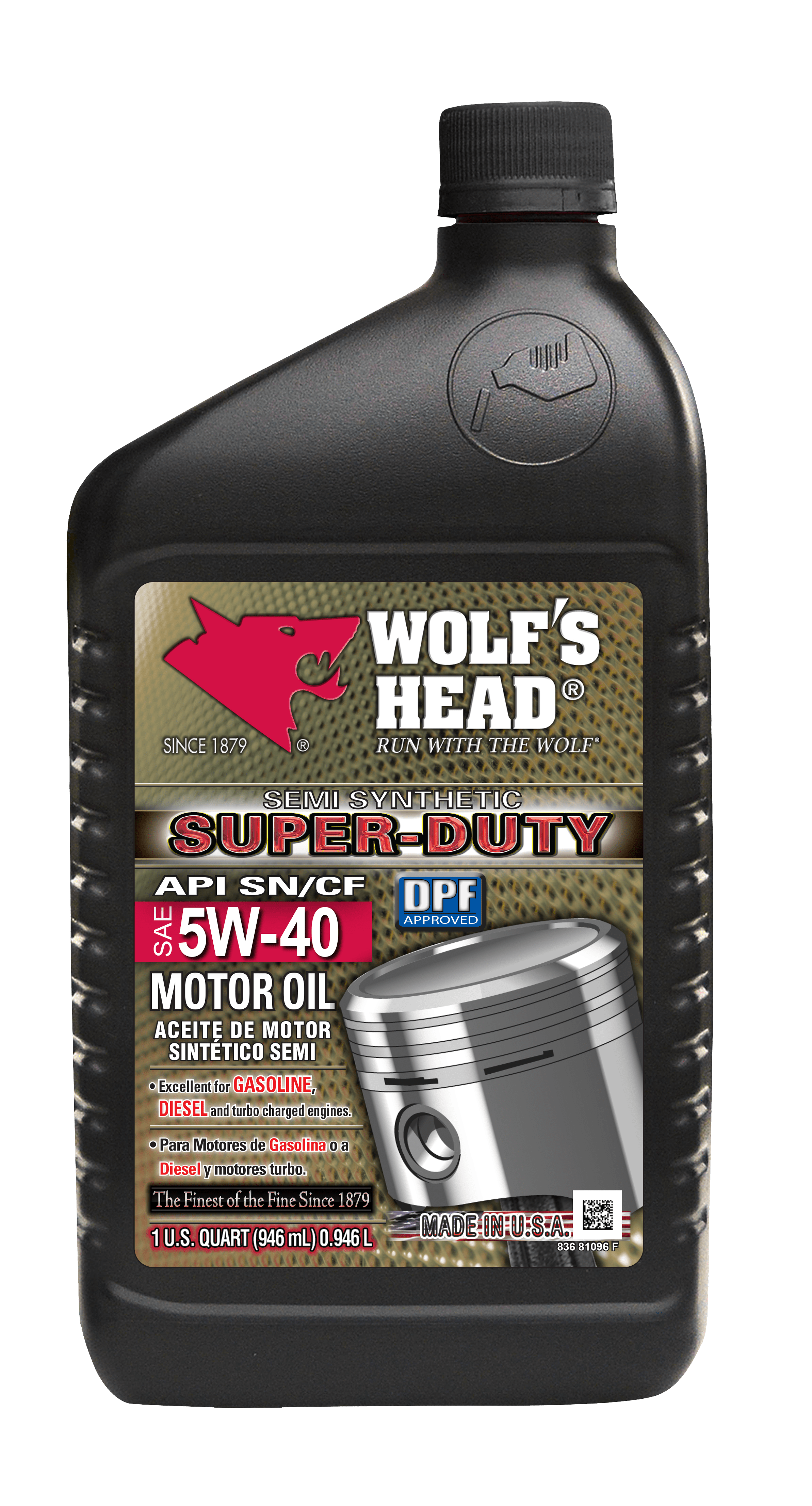 5 W 40 Super Duty 5w 40 Qt