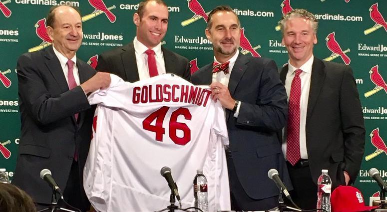 Cardinals Acquire Paul Goldschmidt \u2013 Wolf\u0027s Howl