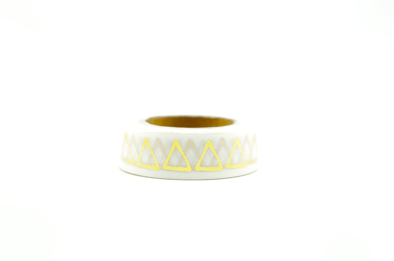 Wo Gibt Es Washi Tape Foil Washi Tape Gold Triangle Wolkenweiss Paper Style