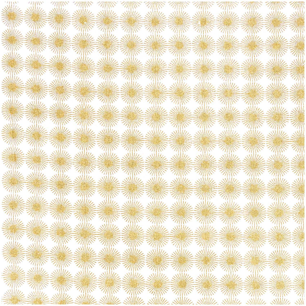 Stoff Gold Rico Stoff Rosette Gold 50x70cm