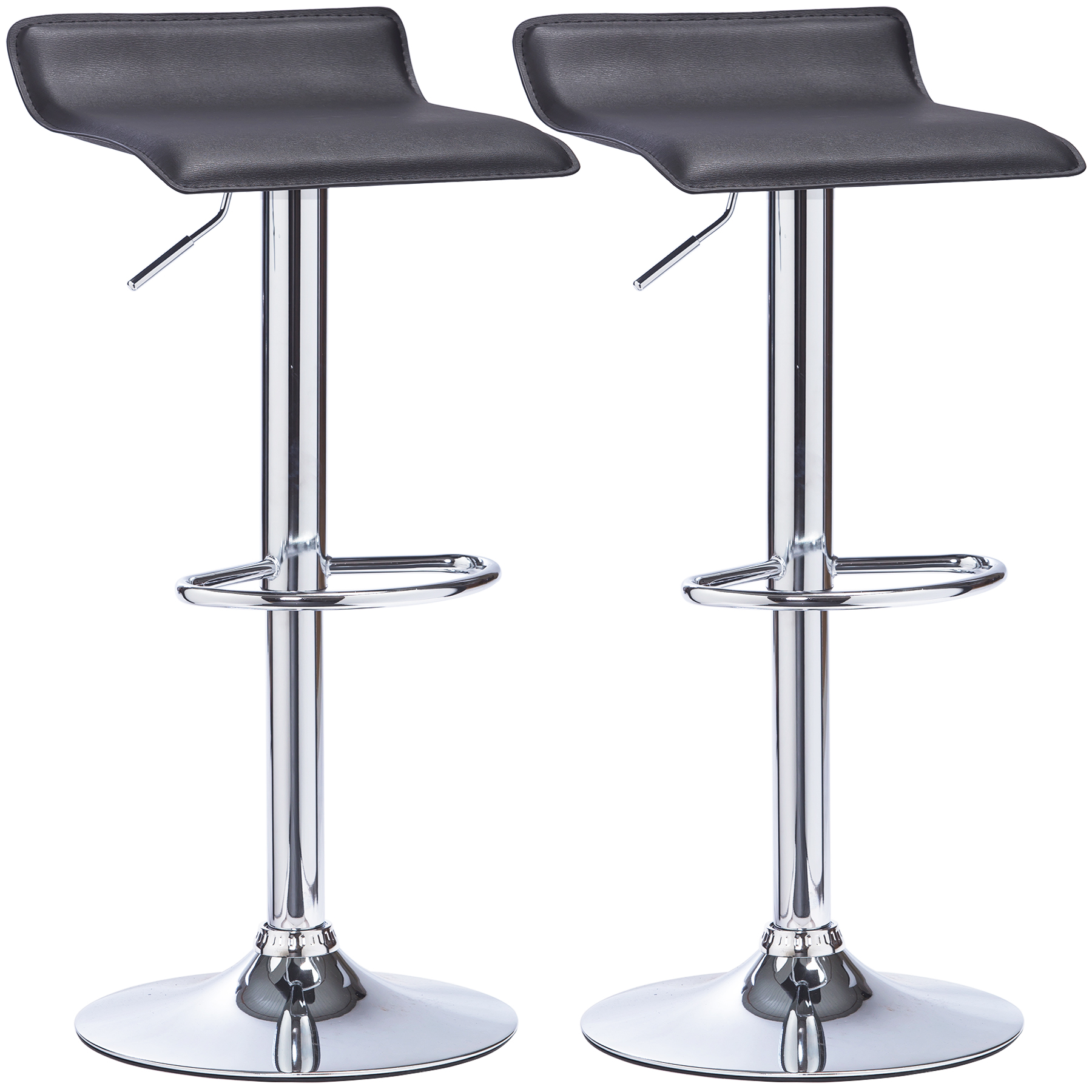 Kitchen Swivel Bar Stools Bar Stools Set Of 2 Swivel Kitchen Breakfast Stools Chair