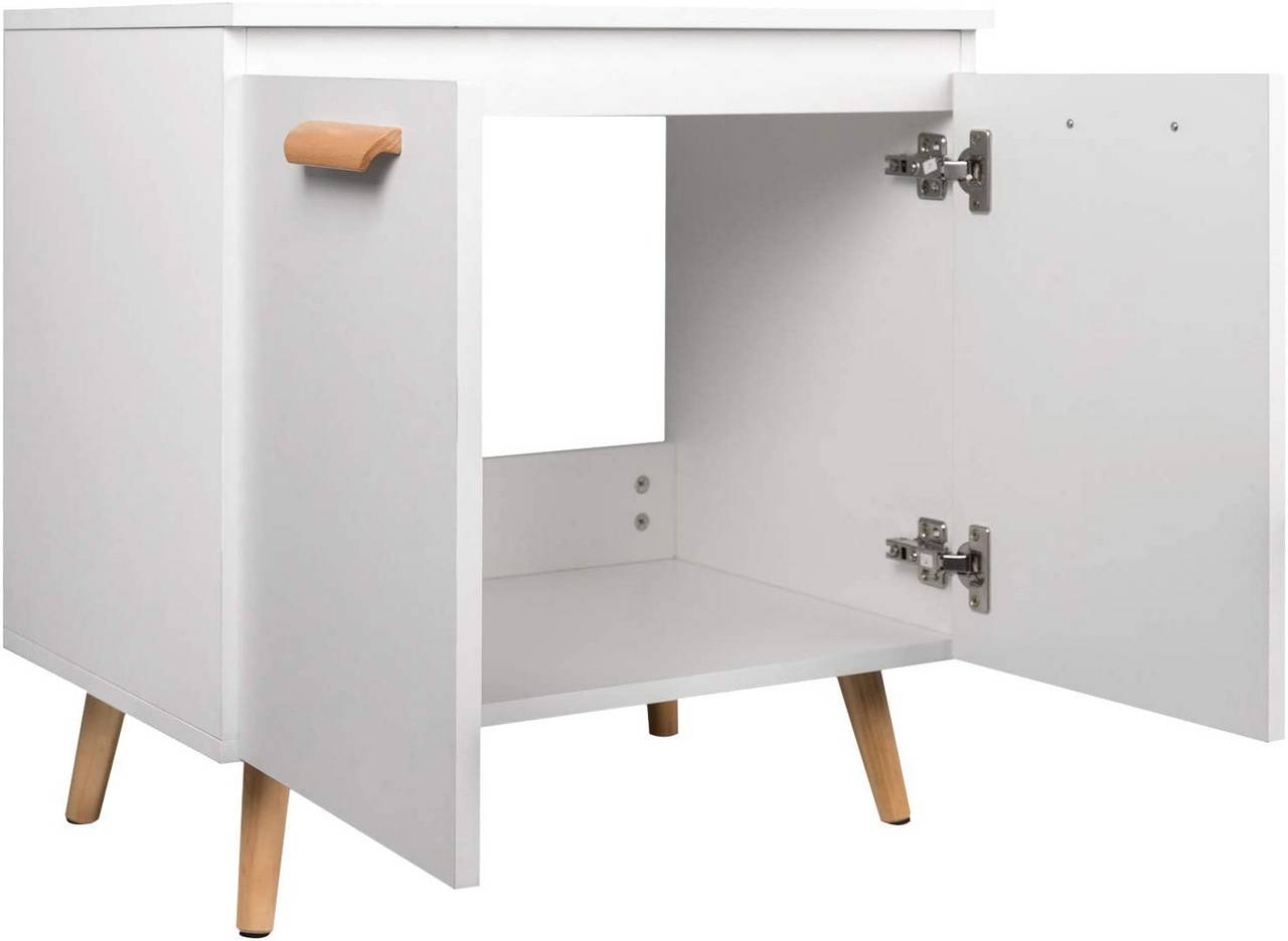 Under Sink With 2 Doors For Bathroom Woltu Eu