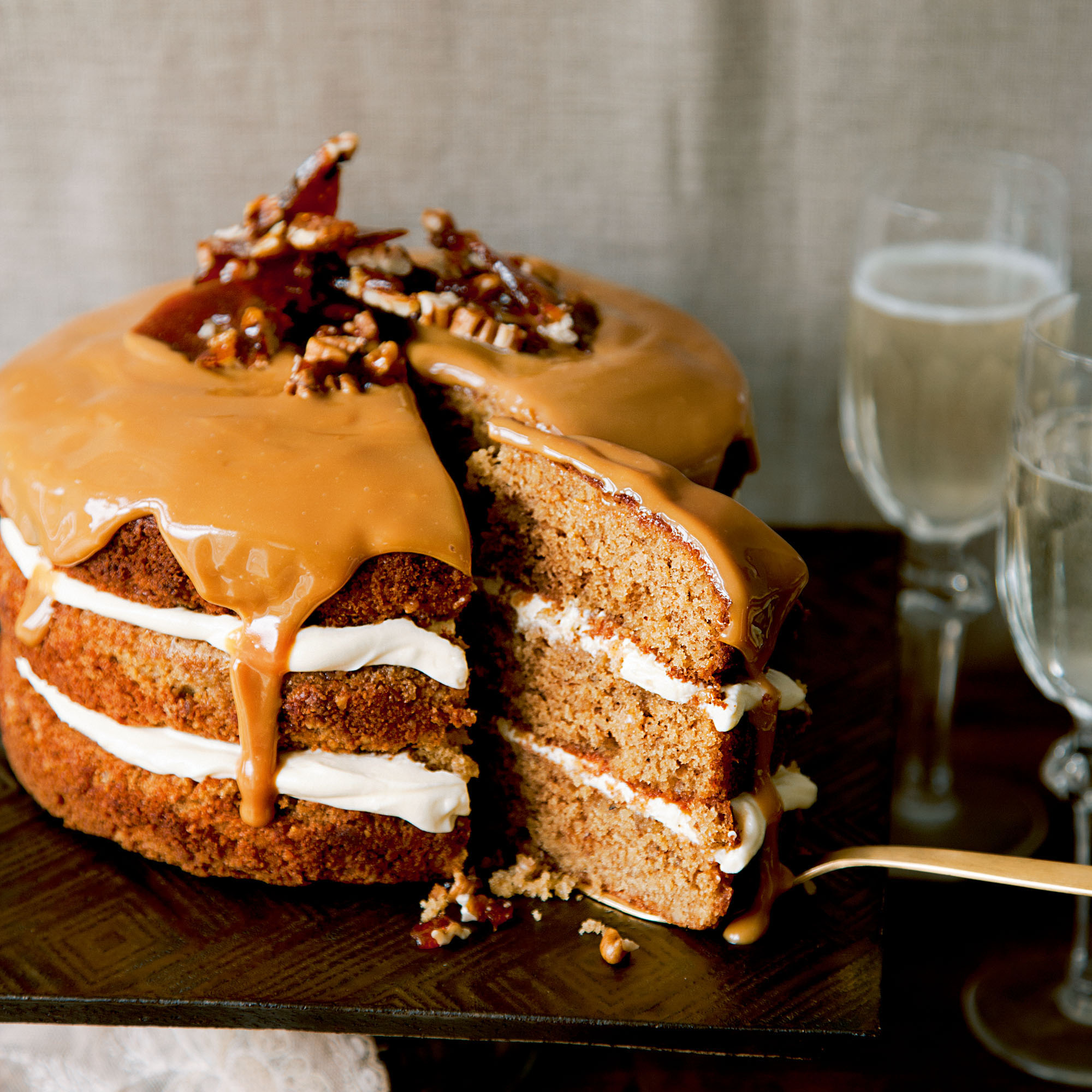 Lidl Cakes Ginger And Pecan Cake - Woman And Home