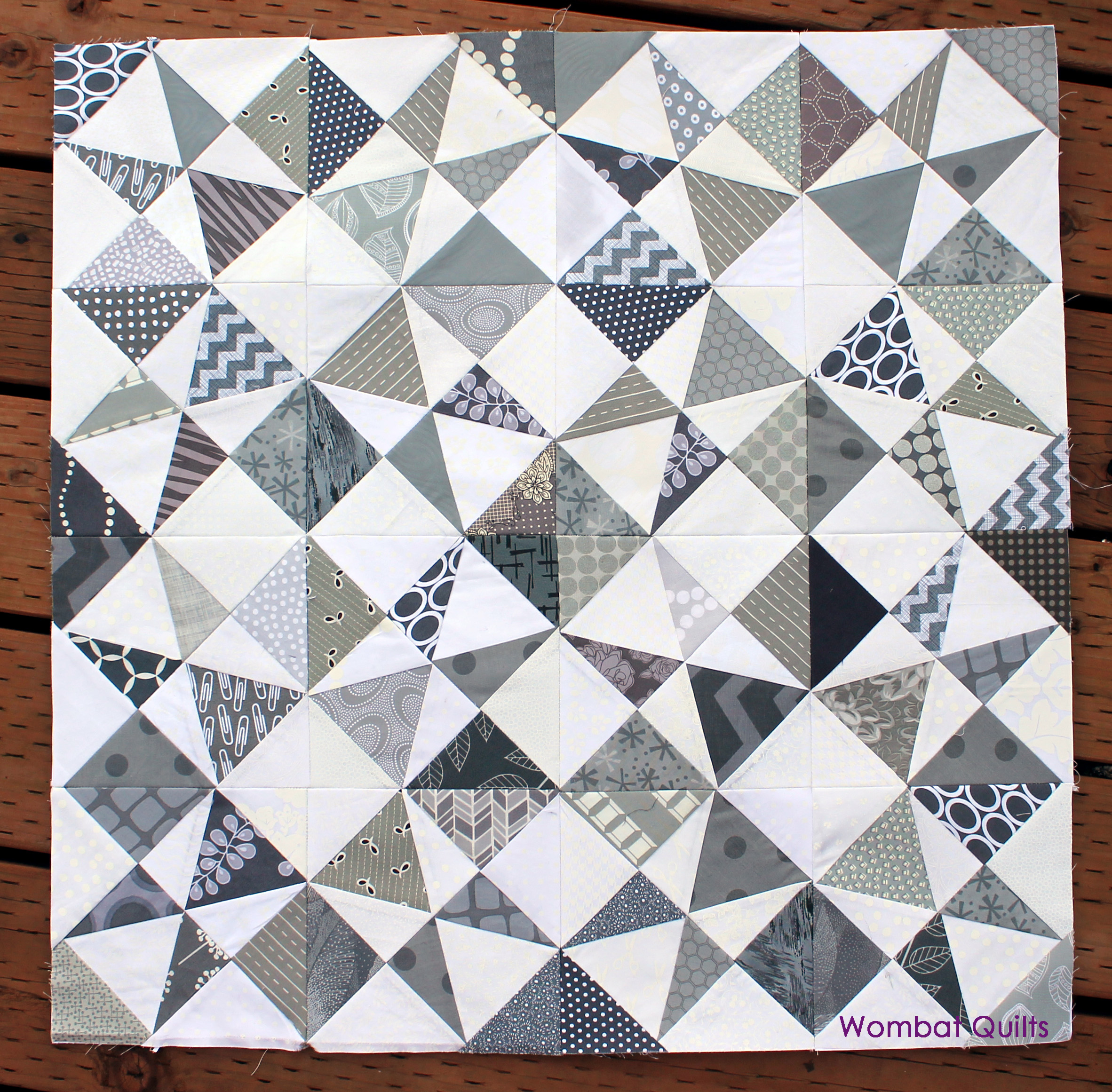 Grey And White Pattern Grey White Quilt Wombat Quilts