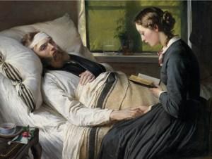 Elisabeth Jerichau-Baumann, A wounded Danish soldier, 1865