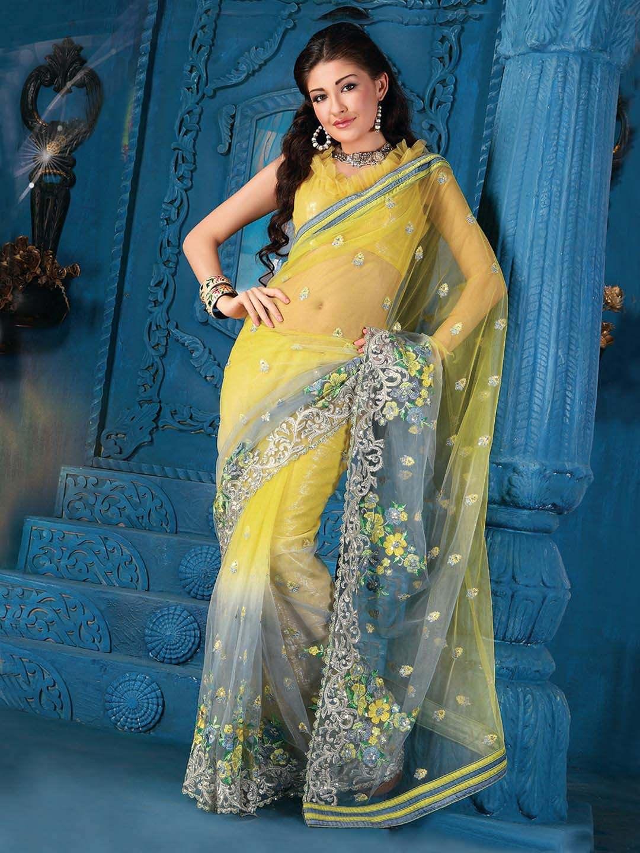 Как сделать индийское сари из шторы