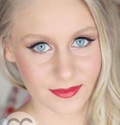 Bridal Blue Eyes Makeup